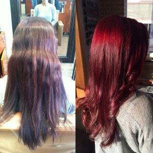 Look at this transformation! her color is lively and fresh!